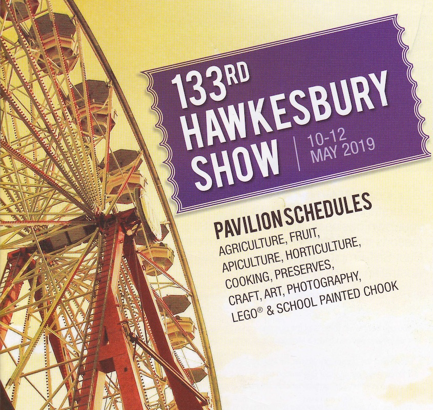 Call for entries in Hawkesbury Agricultural Show